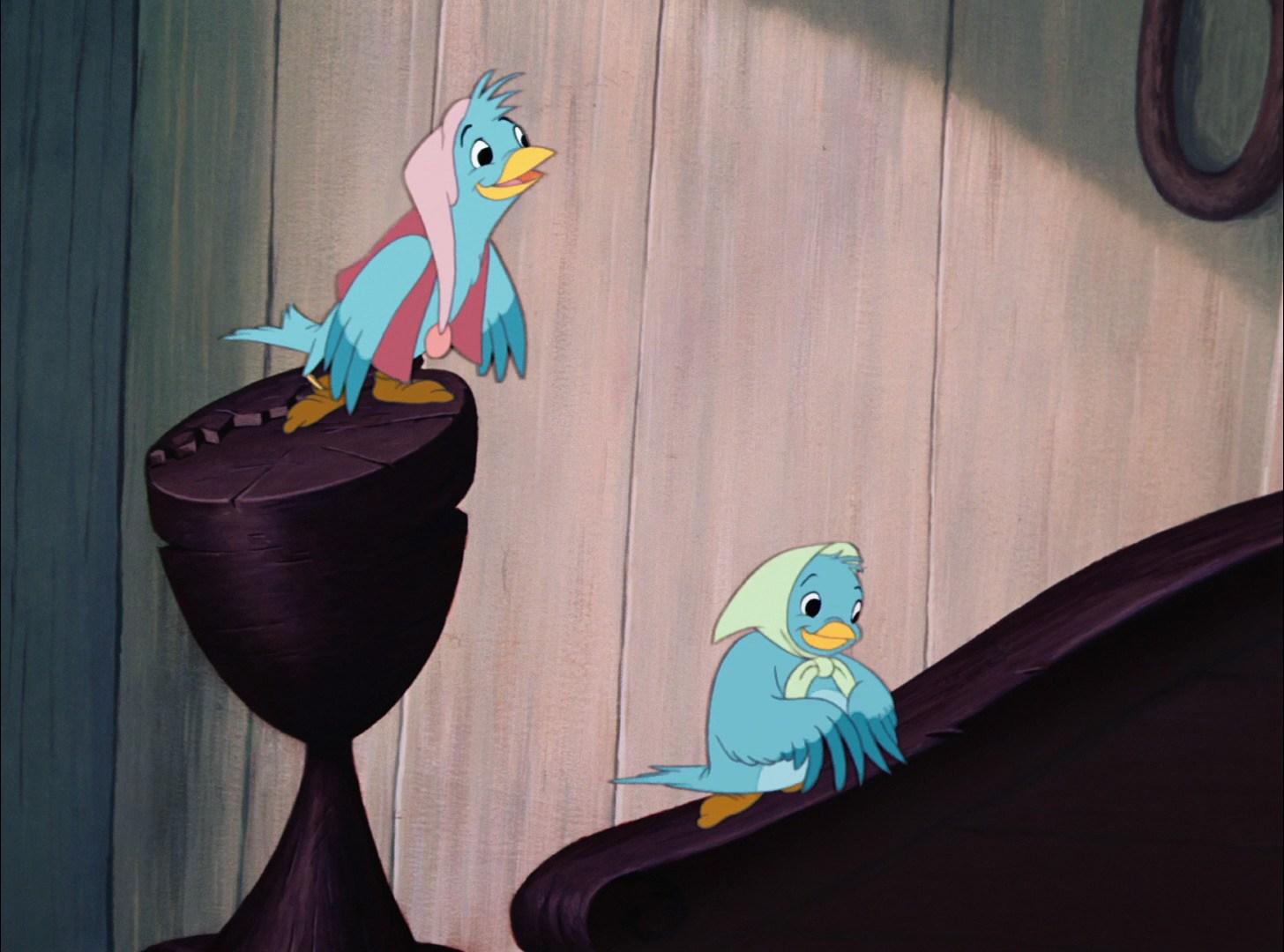 Pássaros (Cinderela)