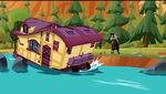 Hector finds the Caravan