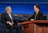 Lewis Black visits Stephen Colbert