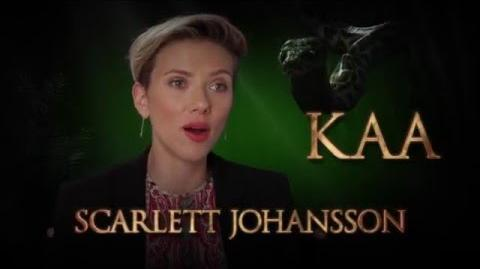 Scarlett Johansson is Kaa - Disney's The Jungle Book