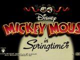 Springtime (Mickey Mouse)