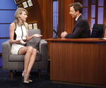 Taylor Swift visits Seth Meyers