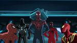 Ultimate Spider-Man - 4x05 - Lizards - Spider-Man, Agent Venom, Miles Morales, Scarlet Spider and Iron Spider