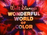 O Maravilhoso Mundo Colorido da Walt Disney
