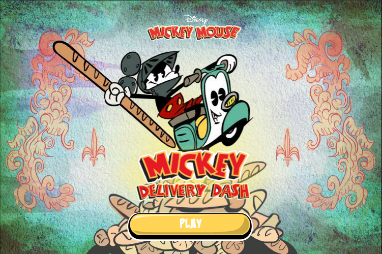 Mickey's Delivery Dash