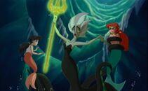Queen Morgana Melody and Ariel
