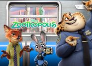Zoomania Nick Judy Clawhauser