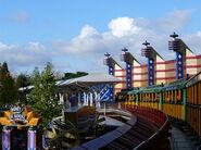 Disneyland Railroad Paris Discoveryland Station
