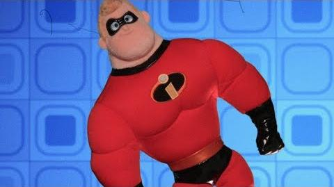 Mr. Incredible Vintage Toy Commercial