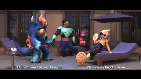 Operação Big Hero - Dubladores - 25 de Dezembro nos Cinemas.