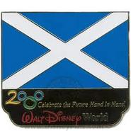 Scotland Flag Pin