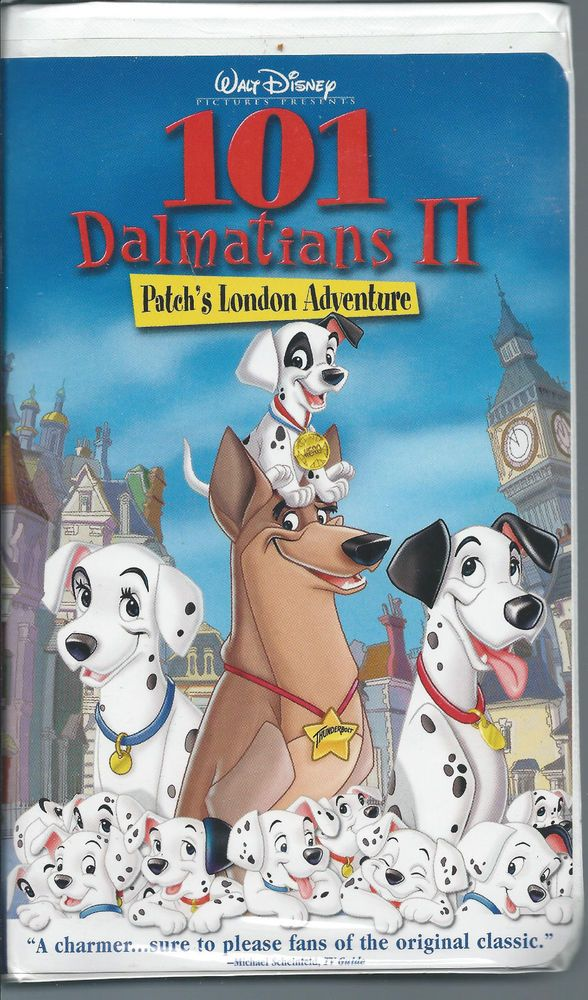 101 Dalmatians II: Patch's London Adventure (video)
