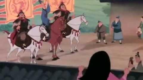 Mulan Disney Trailer DVD