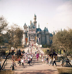 Sleeping Beauty Castle on Opening Day.jpg