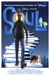 Soul official Disney+ poster