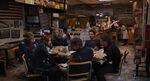 The Avengers Eating