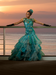 Uma's cotillion dress