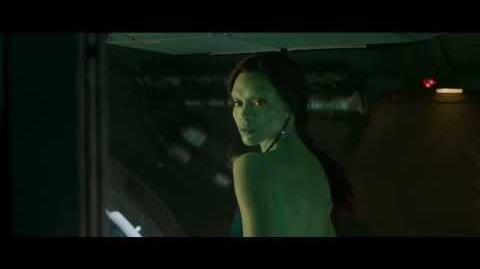 Guardiões da Galáxia - Gamora