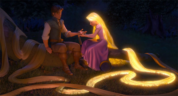 Cabello de Rapunzel