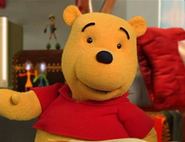 Pooh Bear In The Book Of Pooh