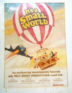 It's a Small World (unused film pitch)