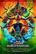 Thor Ragnarok SDCC 2017 Poster