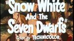 Белоснежка и семь гномов (1937) – трейлер переиздания 1944 года