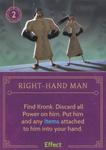 DVG Right-Hand Man