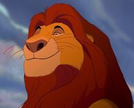 Mufasa Lion King