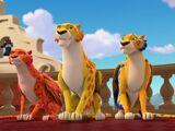 Migs, Luna, and Skylar