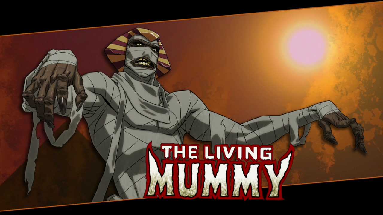 N'Kantu, the Living Mummy