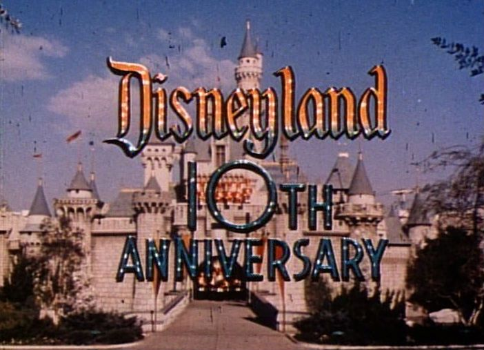 Disneyland 10th Anniversary