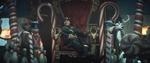 Kid Loki on his throne EP5