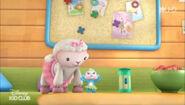 Lambie and bubble monkey