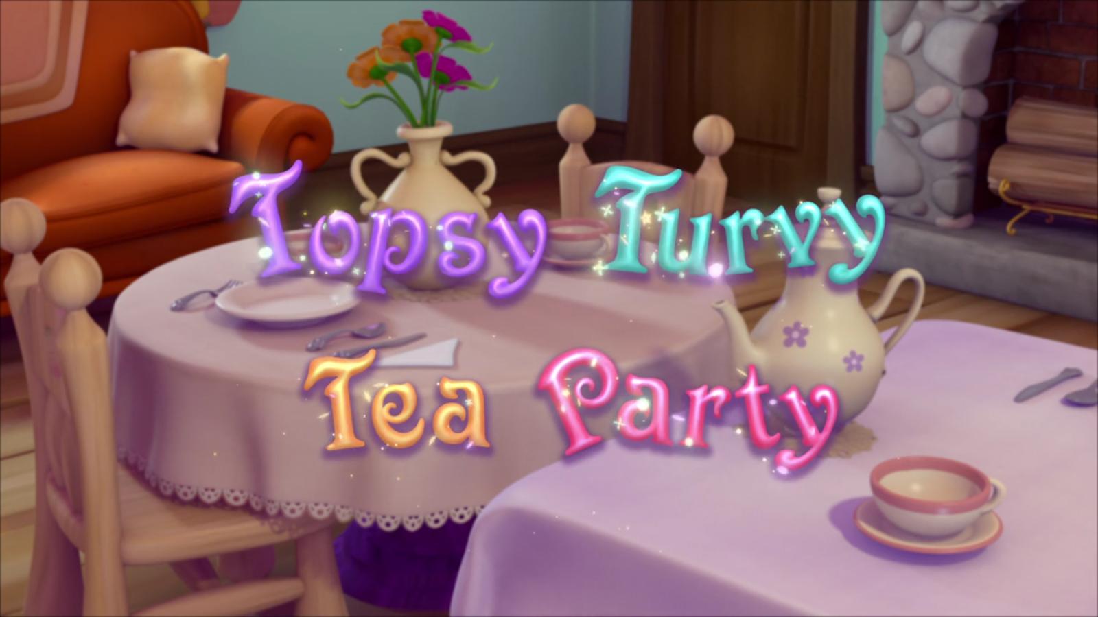 Topsy Turvy Tea Party