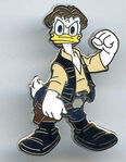 DLP - Star Wars Booster Pack 2012 - Donald as Han Solo ONLY