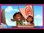 Moana - Chibi Tiny Tales - Disney Channel Animation-2