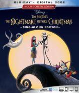 Nightmare before christmas sing along edition blu ray