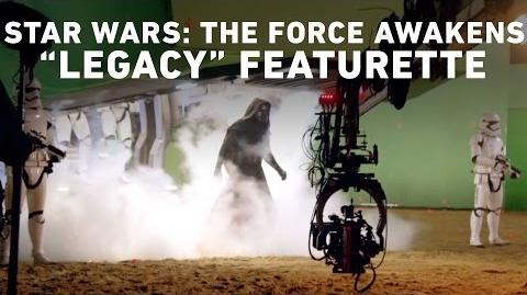 """Star Wars The Force Awakens """"Legacy"""" Featurette (Comic Con Experience, Brazil)"""