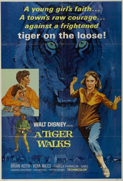 Um Tigre Caminha pela Noite
