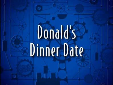 Donald's Dinner Date