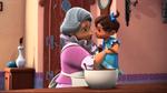 Dia de las Madres Luisa and baby Isabel