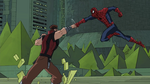 Gorgon vs Spiderman USMWW