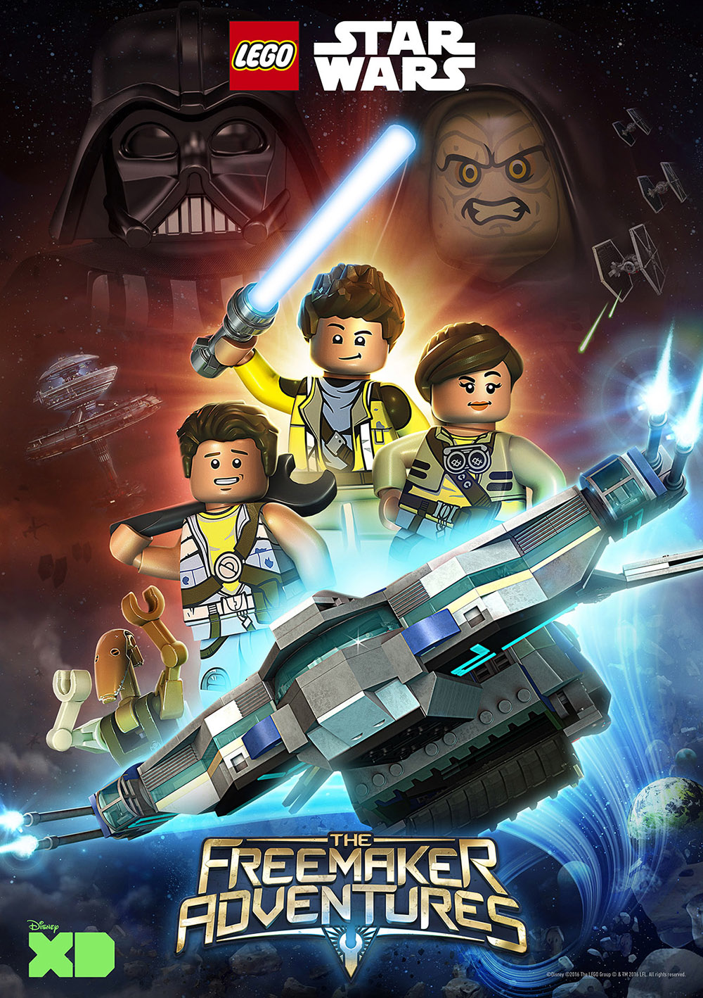 LEGO Star Wars: As Aventuras dos Freemaker