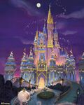 Cinderella-castle-50th-decor-mary-blair-style-concept-art