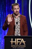 Ryan Gosling speaks at HFA
