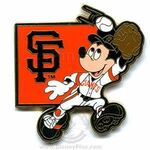 San Francisco Giants Mickey