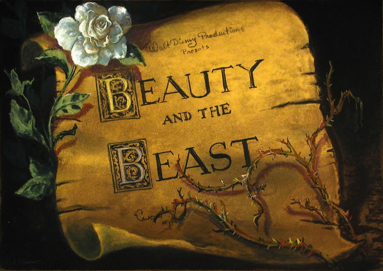 Beauty and the Beast Original Screenplay