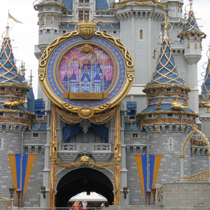 Cinderella's Castle 50th Anniversary of Disneyland 2005.png