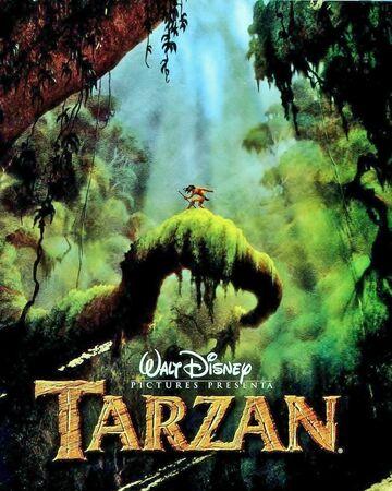 Tarzán Película Disney Wiki Fandom